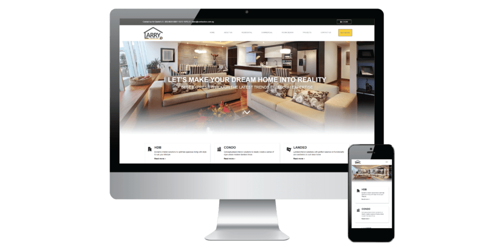 project 1 website development
