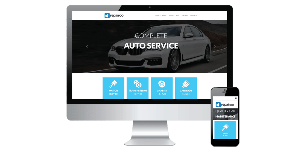 project 8 website development